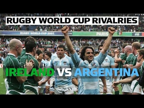 Ireland vs Argentina | Rugby World Cup Rivalries