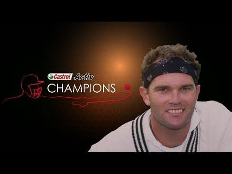 Castrol Activ Champions: Martin Crowe