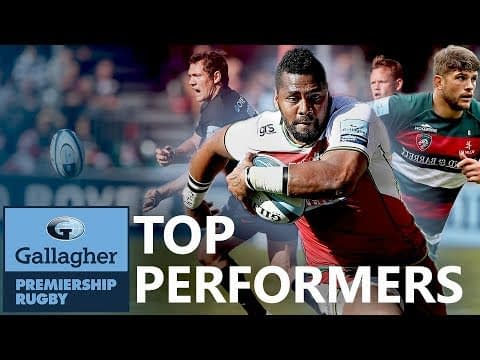 The Breakdown | Top Performers - Round 5 | Gallagher Premiership 2018/19