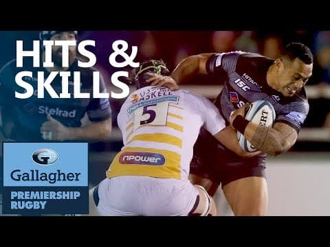 Hits & Skills - Round 5 | Gallagher Premiership 2018/19