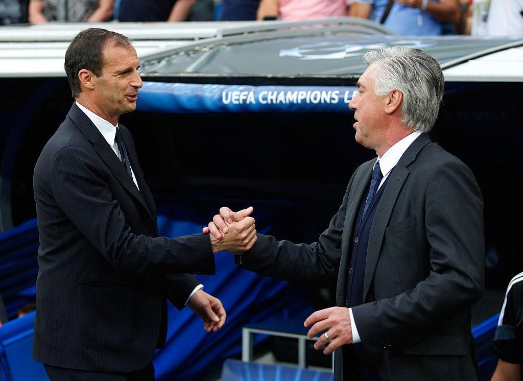 Massimiliano Allegri & Carlo Ancelotti