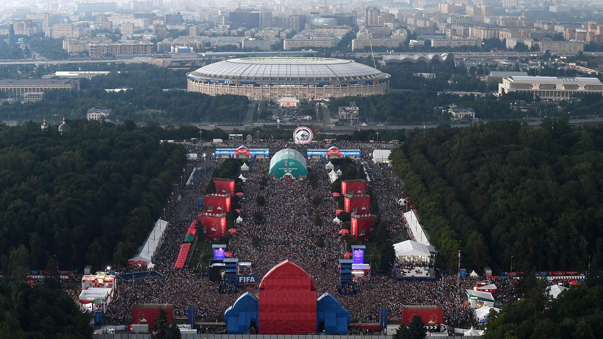 FIFA Fan Fest - Moscow